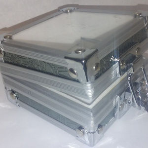 Campaign Chest Jewelry Box with See thru top